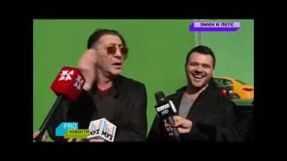 Григорий Лепс и Эмин на съемках нового клипа . (Про новости Муз тв 2.05.17)
