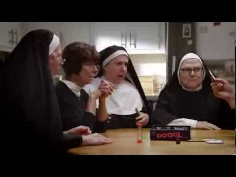 TV Commercial - Hasbro - Taboo - Nuns Playing Taboo Travel Video