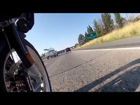 BMW GS 1200 2015 Willard Utah to Cotton wood heights Utah. Part 1 of 2