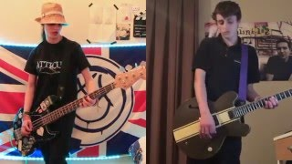 blink-182 Feeling This guitar and bass cover