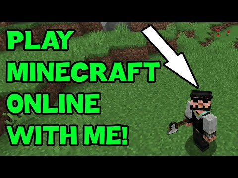 how-to-play-minecraft-with-friends-:)