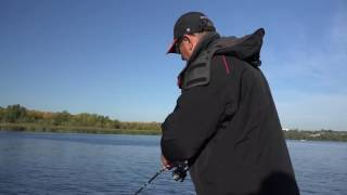 Мастер-класс по ловле осенней щуки.(Осенняя ловля щуки в дельте Днепра. Видео от компании Нормарк. В кадре - известные рыболовы-спортсмены из..., 2016-10-30T12:55:22.000Z)