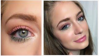 Весенний макияж / Яркий макияж / Цветной макияж: видео-урок / Colourful Spring Make Up