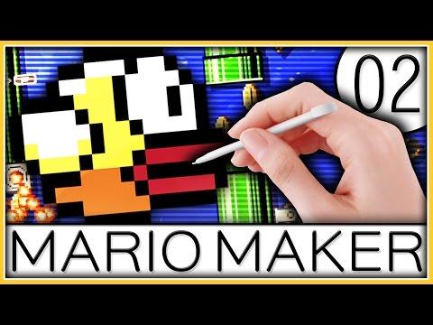 Super Mario Maker - Flappy Mario!  | Part 2
