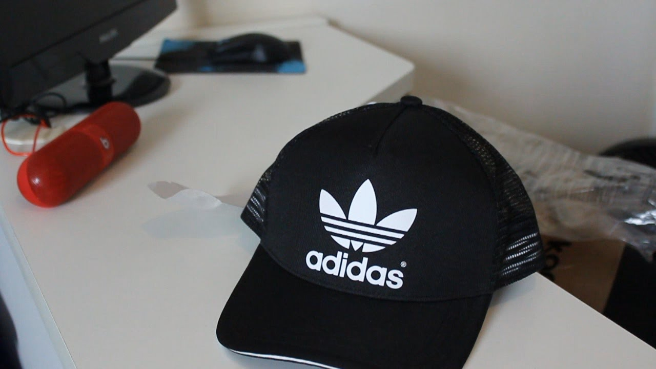 3e4eb8b1b23b6 Unboxing Boné Adidas Originals - YouTube
