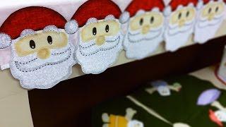 Isamara Custódio – Jogo Americano Motivo Papai Noel