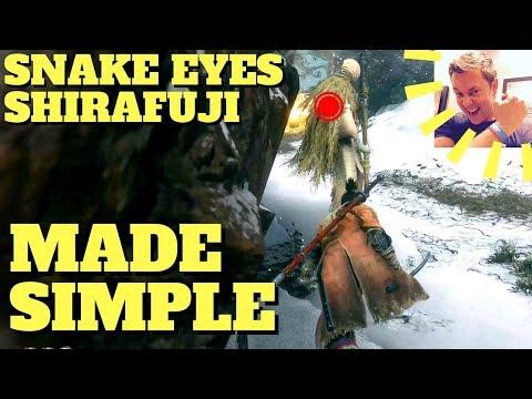 Sekiro -  Snake Eyes Shirafuji (STEALTH, Sunken Valley)