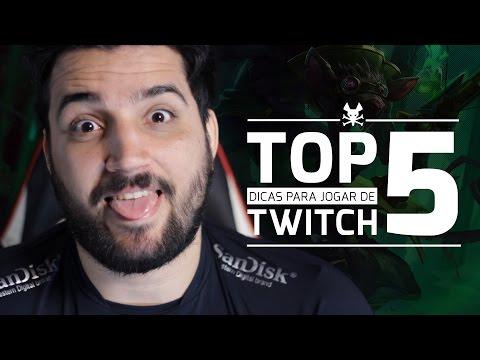 Top 5 - Dicas para jogar de Twitch com brTT
