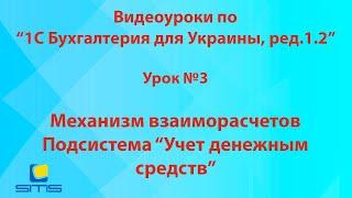Обучение по программе 1С Бухгалтерия 8 для Украины. Урок 3
