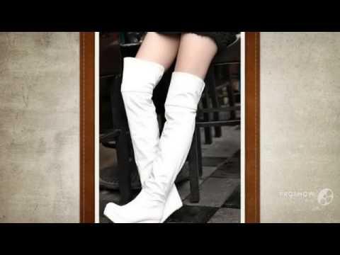женские сапоги на платформе