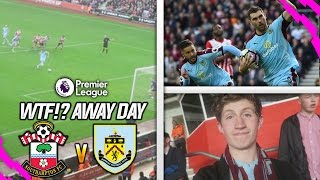 WE NEED TO CHANGE!! - SOUTHAMPTON VS BURNLEY AWAY DAY VLOG!