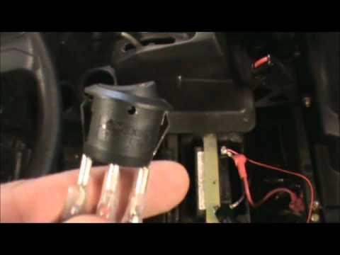 Led Light Bar Relay Wiring Diagram Bulb Rigid Industries 20 Install On Polaris Rzr 800 Part 2 Youtube