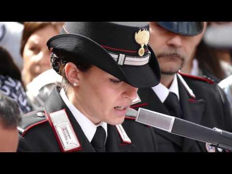 Giuramento Carabinieri 2016 - Roma - Parte 2/5