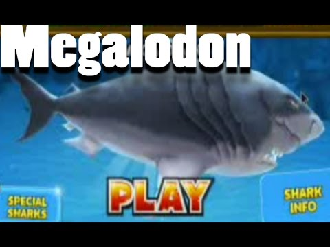 hungry shark evolution how to get megalodon youtube