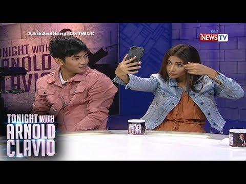 Tonight with Arnold Clavio: Hot siblings na sina Jak Roberto at Sanya Lopez, magkakabukingan na!