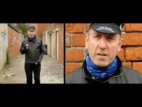 Michael Smiley is back on his bike
