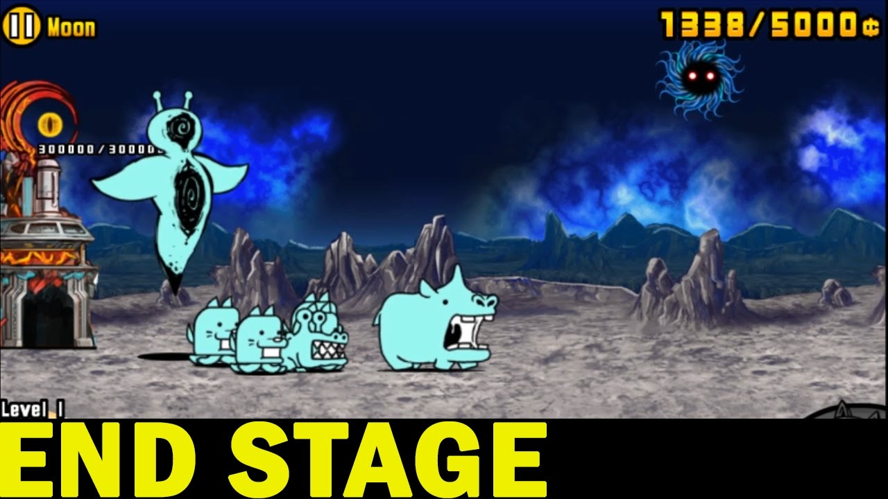 The Battle Cats | Into the Future FINAL MOON STAGE!