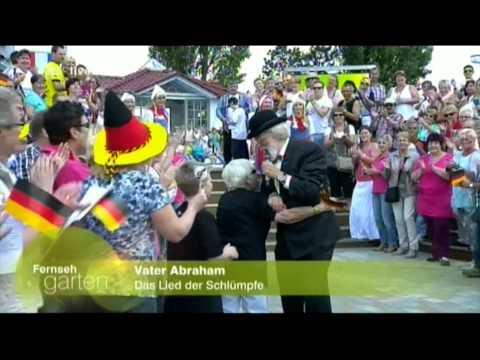 Vader Abraham - Das lied der Schlümpfe (Fernsehgarten 22-6-2014)