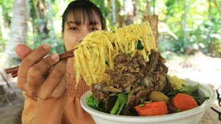 Yummy cooking noodle with soup recipe - Cooking skill