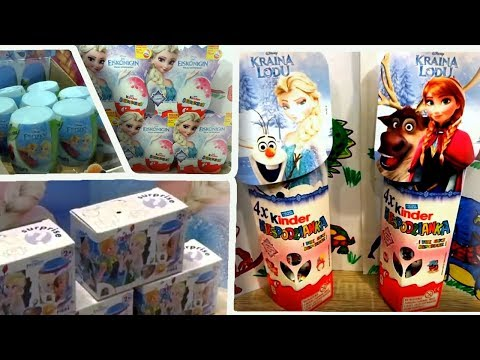 76 Disney Frozen Anna and Elsa Princess of Arendelle Surprise Eggs