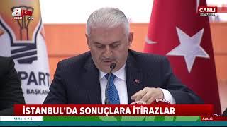 Binali Yıldırım'dan İstanbulseçimsonuçları ile ilgili önemli açıklamalar