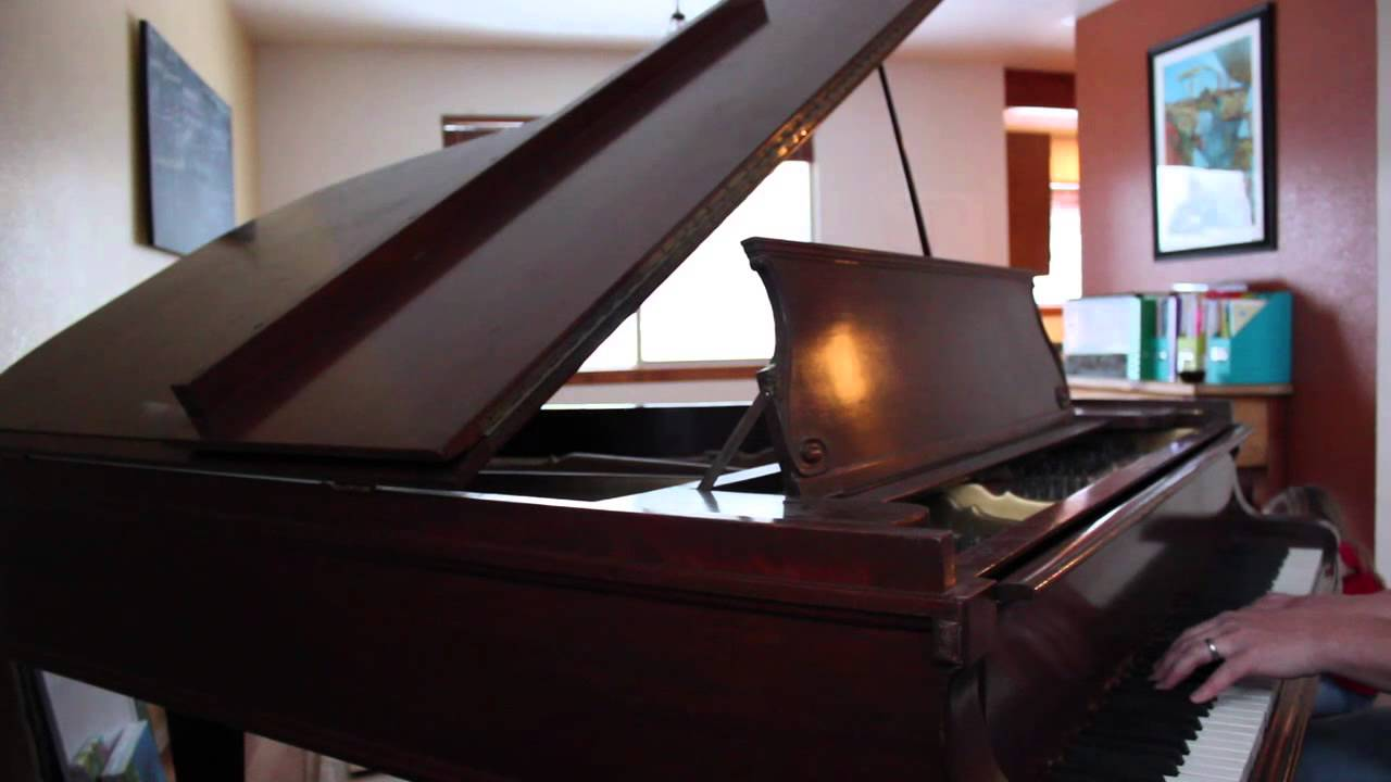 Mehlin and Sons Upright Grand Piano - free stuff