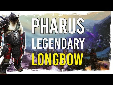 Guild Wars 2 - Pharus - A New Legendary Longbow Showcase thumbnail