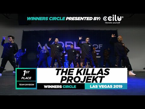The Killas Projeckt 1st Place Winners Circle World of Dance Las Vegas 2019 #WODLV19