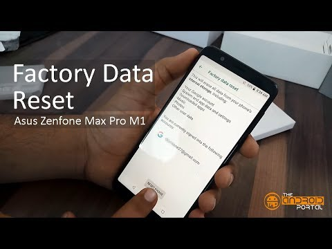 How To Factory Data Reset on ASUS Zenfone Max Pro M1