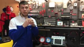 Видеобзор установки для заправки кондиционеров TEXA Konfort 780R BI-GAS