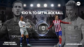 Best silver+ box draw trick to get 100 % black ball || pes 18 # 1