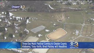 3-Day Country Music Festival Comes To Chester County
