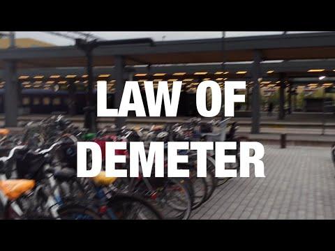 Law of Demeter | Code Walks 014