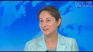 Ségolène Royal, invitée du journal de 19h de France 3 Corse ViaStella