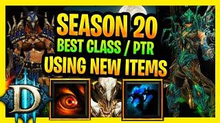 Diablo 3 Season 20 New Sets Best Classes Highest GR, Hydra Wizard, Frenzy Barbarian , Spirit WD PTR