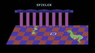 C64 Game: Drei Drachentöter