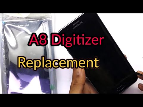 Samsung Galaxy A8 LCD Screen Replace.
