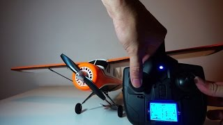 XK A600 5CH Brushless DHC-2 Scale Plane - Introduction