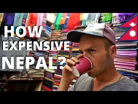 HOW EXPENSIVE is NEPAL? Budget Travel, Kathmandu