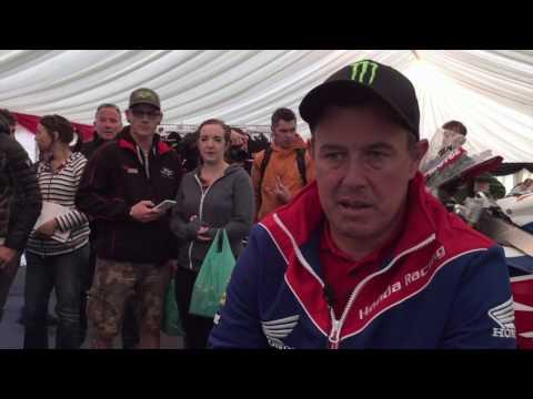 John McGuinness TT Video Diary - Wednesday Practice | Motorcyclenews.com