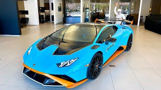 The Lambo STO is here!!!!