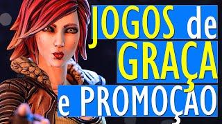 OPA!! MUITOS JOGOS GRÁTIS no PC e XBOX (EPIC e STEAM), e GRANDE PROMOÇÃO com JOGOS BARATOS no PC!!