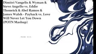 Steve Angello vs.Eddie Thoneick -Payback vs.Love Will Never Let You Down (Mashup)