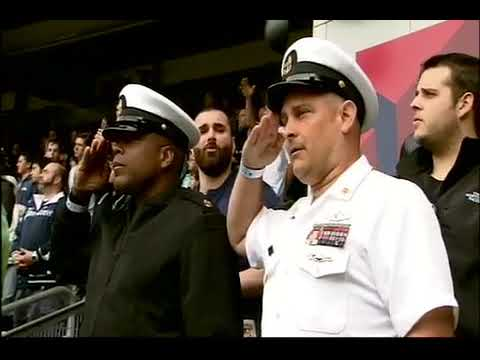 e0105855b4c Veterans Day Yankees Honor 97 - YouTube