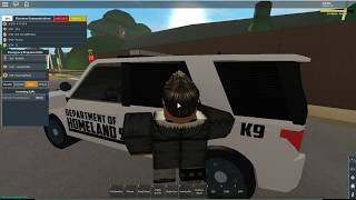 ROBLOX | Firestone DHS K9 Patrol (Part 1)