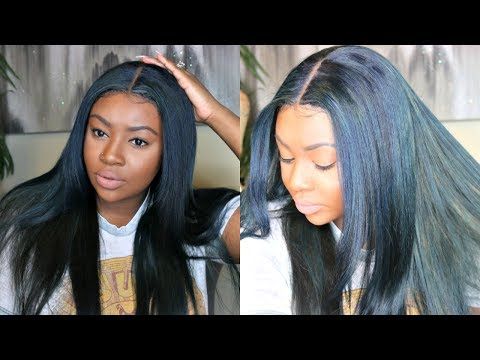 How I Dye My Hair Navy Blue with Adore Dye | OxeyeGirl Hair