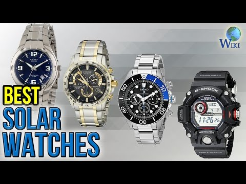 6 Best Solar Watches 2017