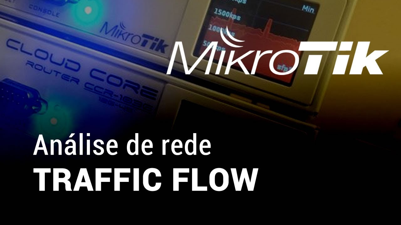 Mikrotik Traffic Flow com Ntop
