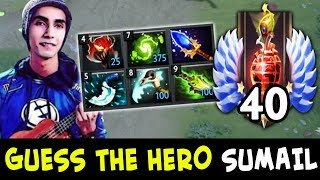Guess the hero — TOP-40 RANK SumaiL edition