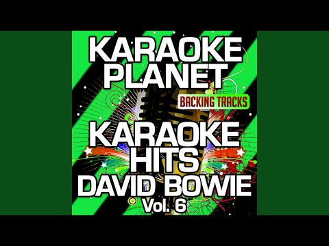 The Width of a Circle (Karaoke Version With Background Vocals) (Originally Performed By David...